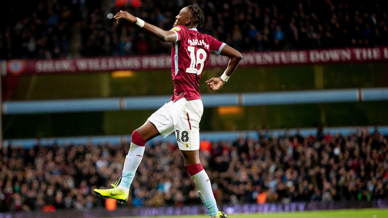 Abraham Mixed Emotions Aston Villa Football Club Avfc