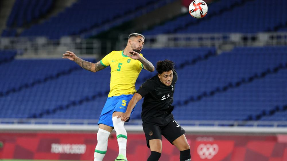 Internationals: Luiz off to a winning start at the Olympics