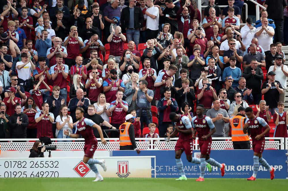 GALLERY: Villa in pre-season action at Stoke 📸
